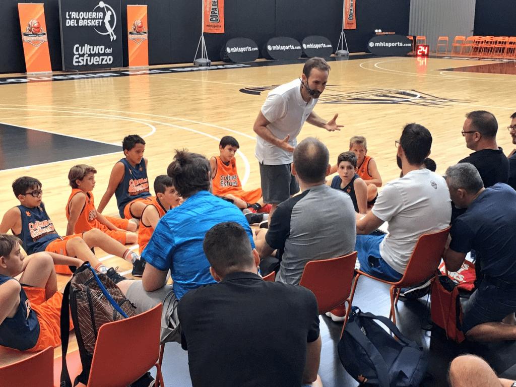 """Sito Alonso en el Curso de Minibasket Online que puedes disfrutar. Minibasket y """"el efecto acordeón"""""""
