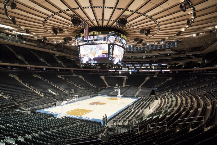Madison Square Garden, en Pennsylvania Plaza, Nueva York