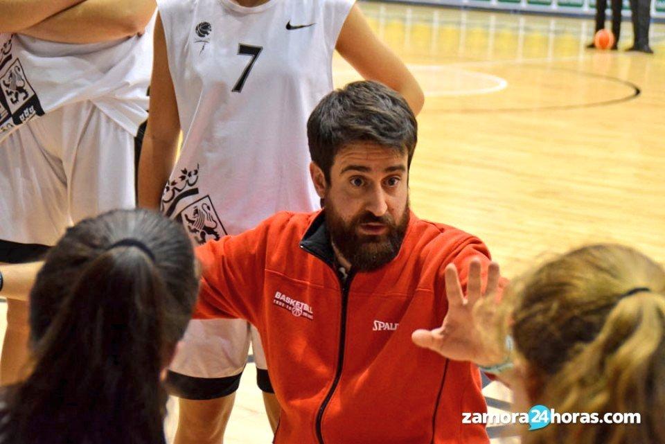 David al frente de la selección cadete de Castilla y León