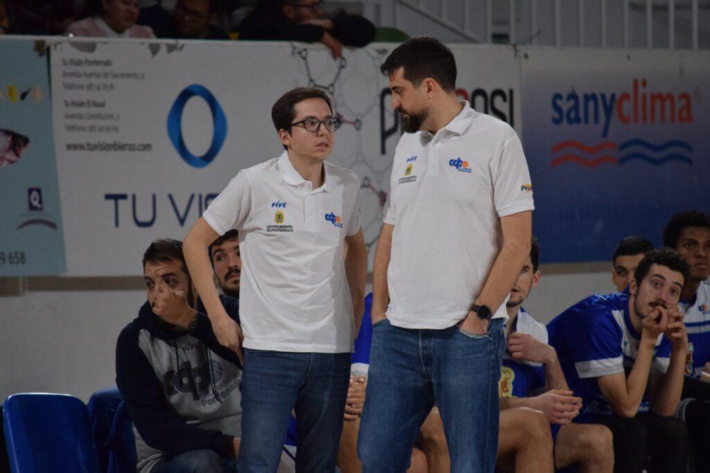 David Barrio en pleno diálogo con Fernando Merchante