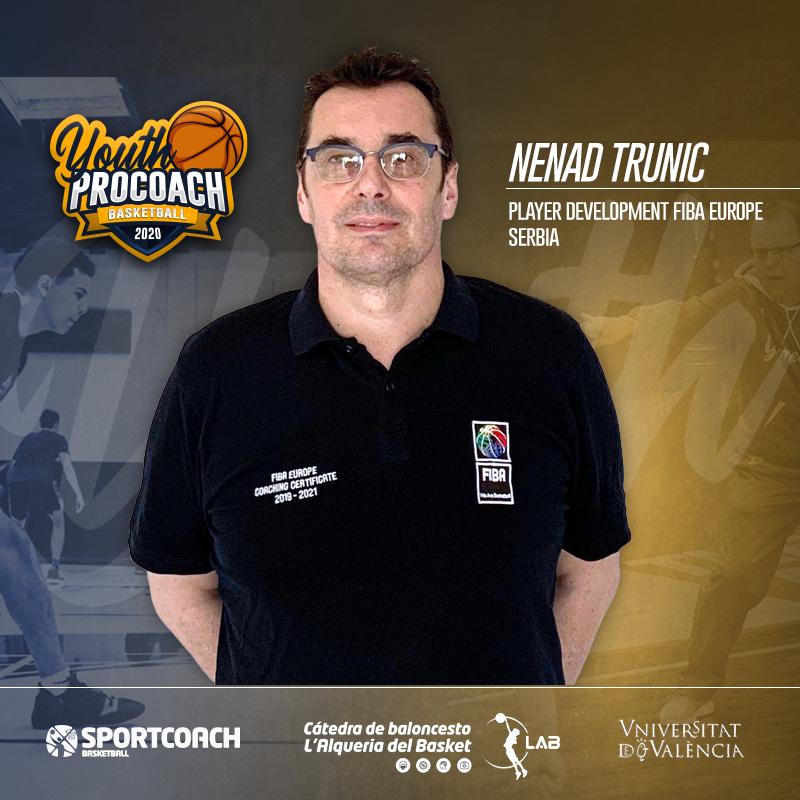 Es todo un lujo poder contar con Nenad Trunic en un curso de baloncesto de formación