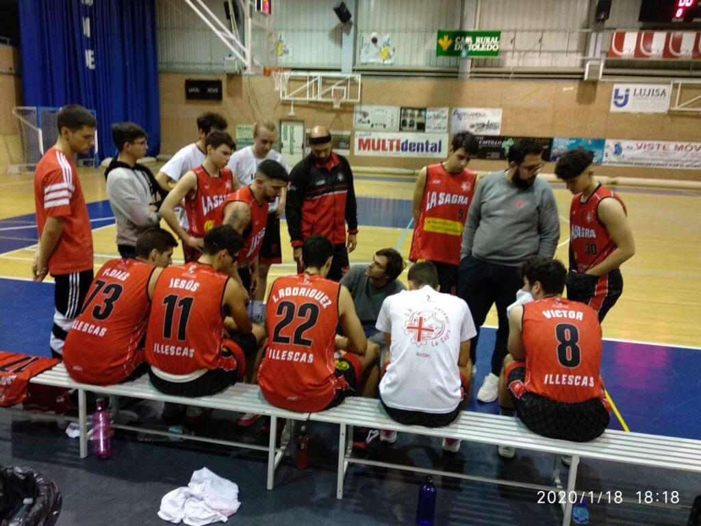 Jesús, al frente de su equipo