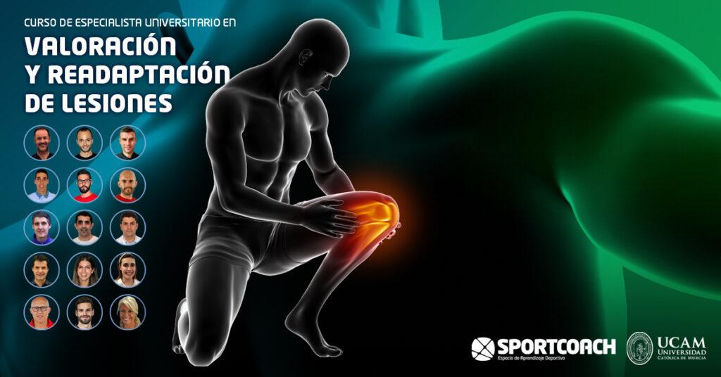 Curso de Especialista Universitario de Valoración funcional y readaptación de lesiones de Sport Coach