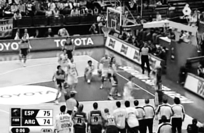 Historia del baloncesto español. El no triple de Nocioni