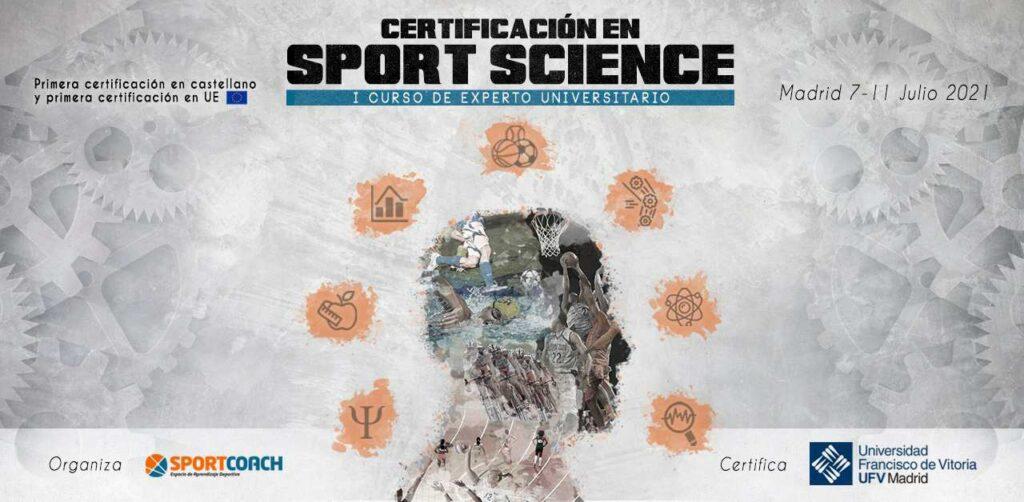 Información del Curso de Experto en Sport Science de SportCoach