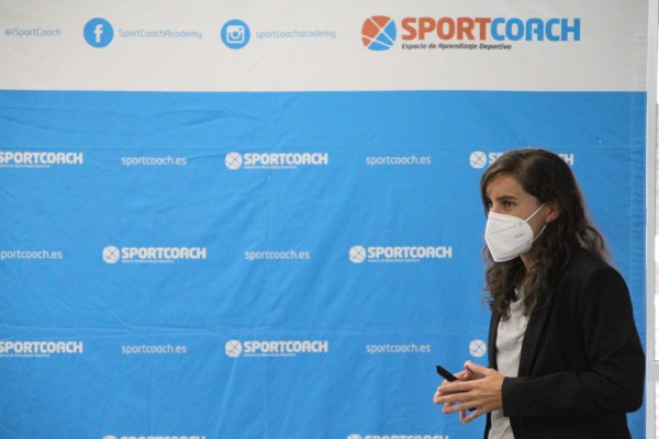 Esther Morencos en el Sport Science de SportCoach