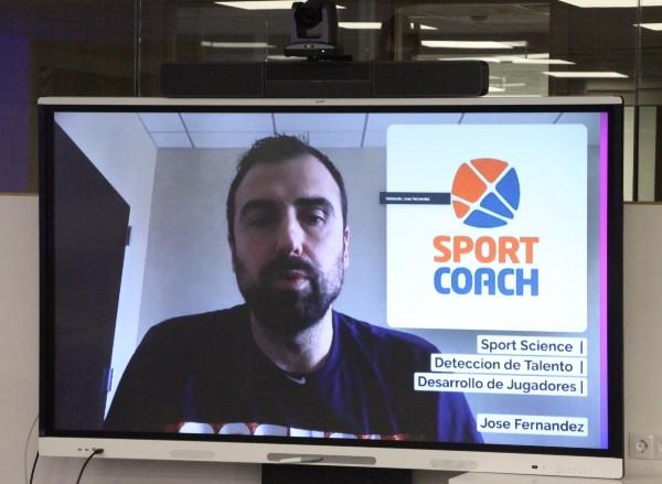 José Fernández en el Experto en Sport Science de SportCoach desde Florida
