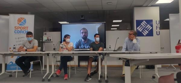Schelling, Morencos, Fernández, Balsalobre y Terrados en el Sport Science de SportCoach hablando sobre emprendimiento, estadísticas y futuro en Sport Science