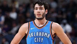 Alex Abrines jugador del OKC Thunder NBA