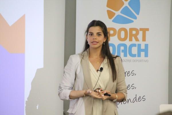 Lucía Almendros en el Sport Science de SportCoach
