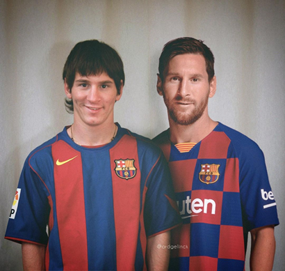 Leo Messi cuando empezó y ahora. Forever young: 5 claves de la longevidad en el deporte